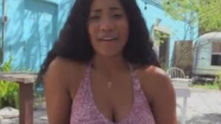 Morena Preciosa y Jovencita follada y chingada en Video X por un Calvo